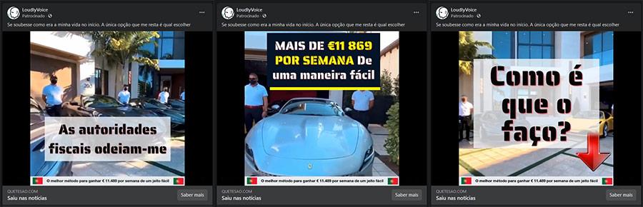Passos fraude EverFX anúncios falsos