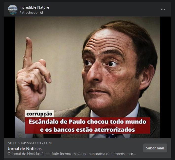 Fake news Bitcoin Paulo Portas